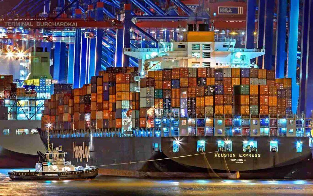 Digitalización de la cadena logística marítima