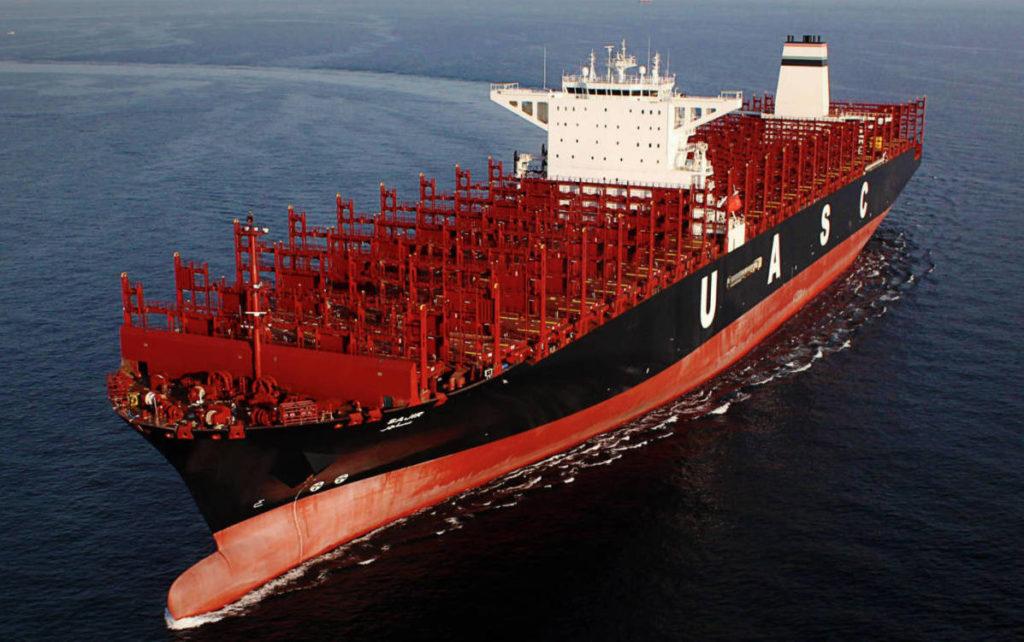 Inician construcción de buques portacontenedores más grandes del mundo.