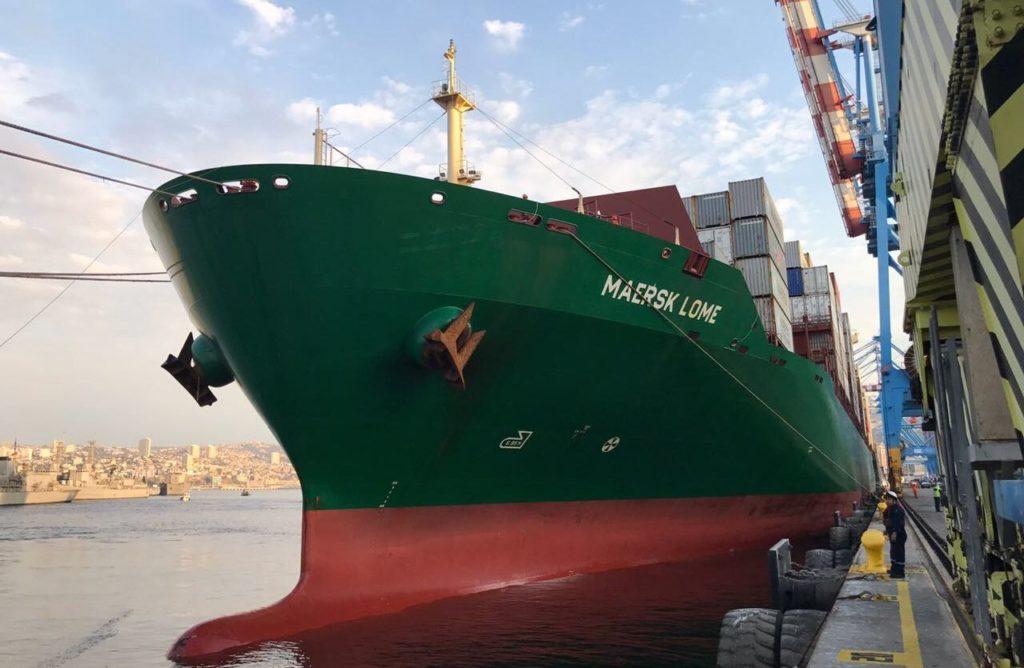 TPS Valparaíso es el primer terminal portuario en Chile que se une a la plataforma Blockchain de Maersk